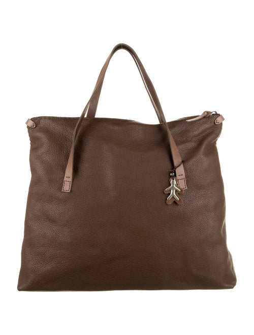 Henry Beguelin Leather Tote Bag Brown