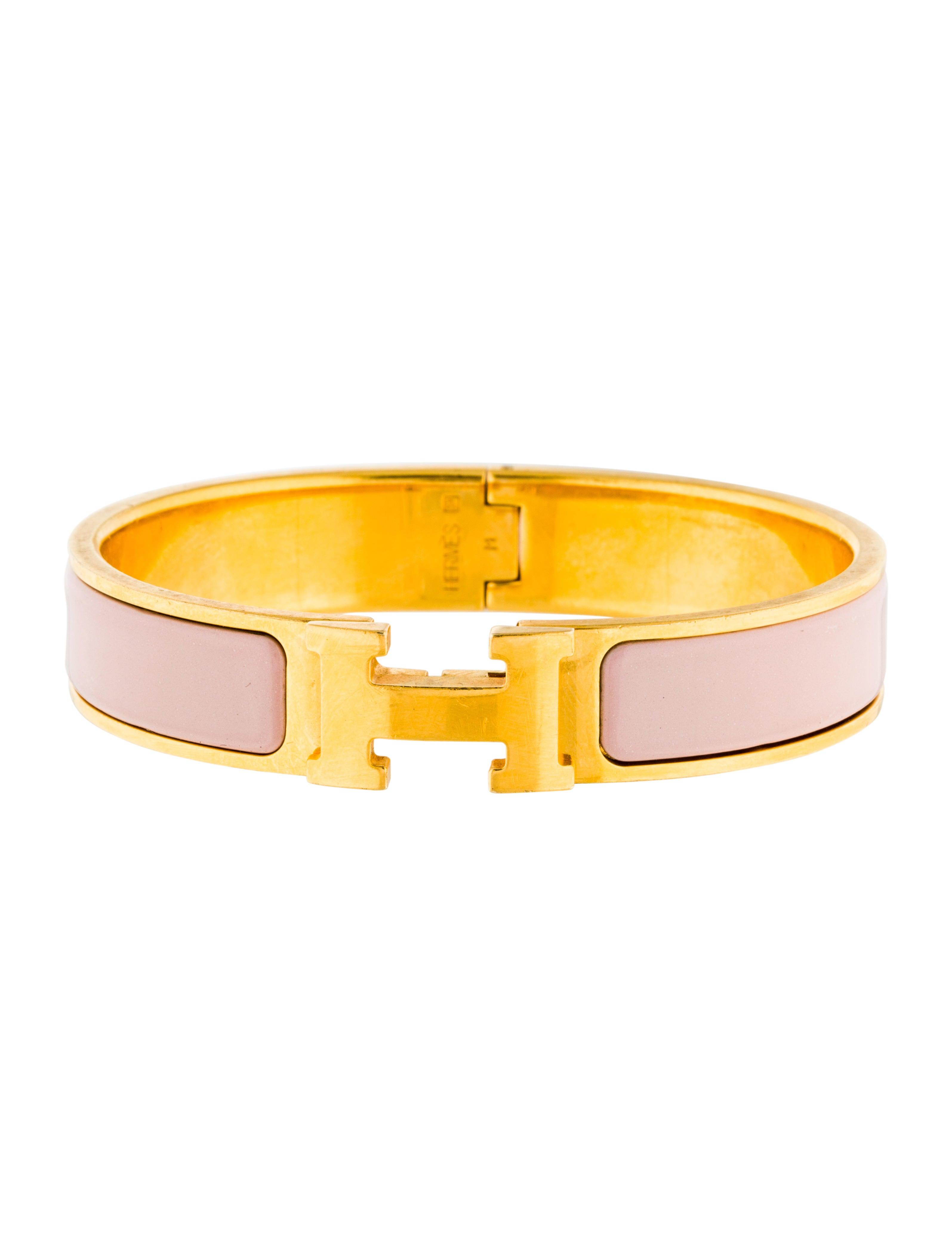 herm 232 s clic h bangle bracelet bracelets her100103