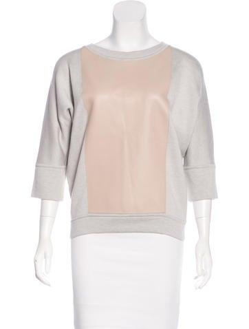 Hermès Swift Leather Dolman Top None