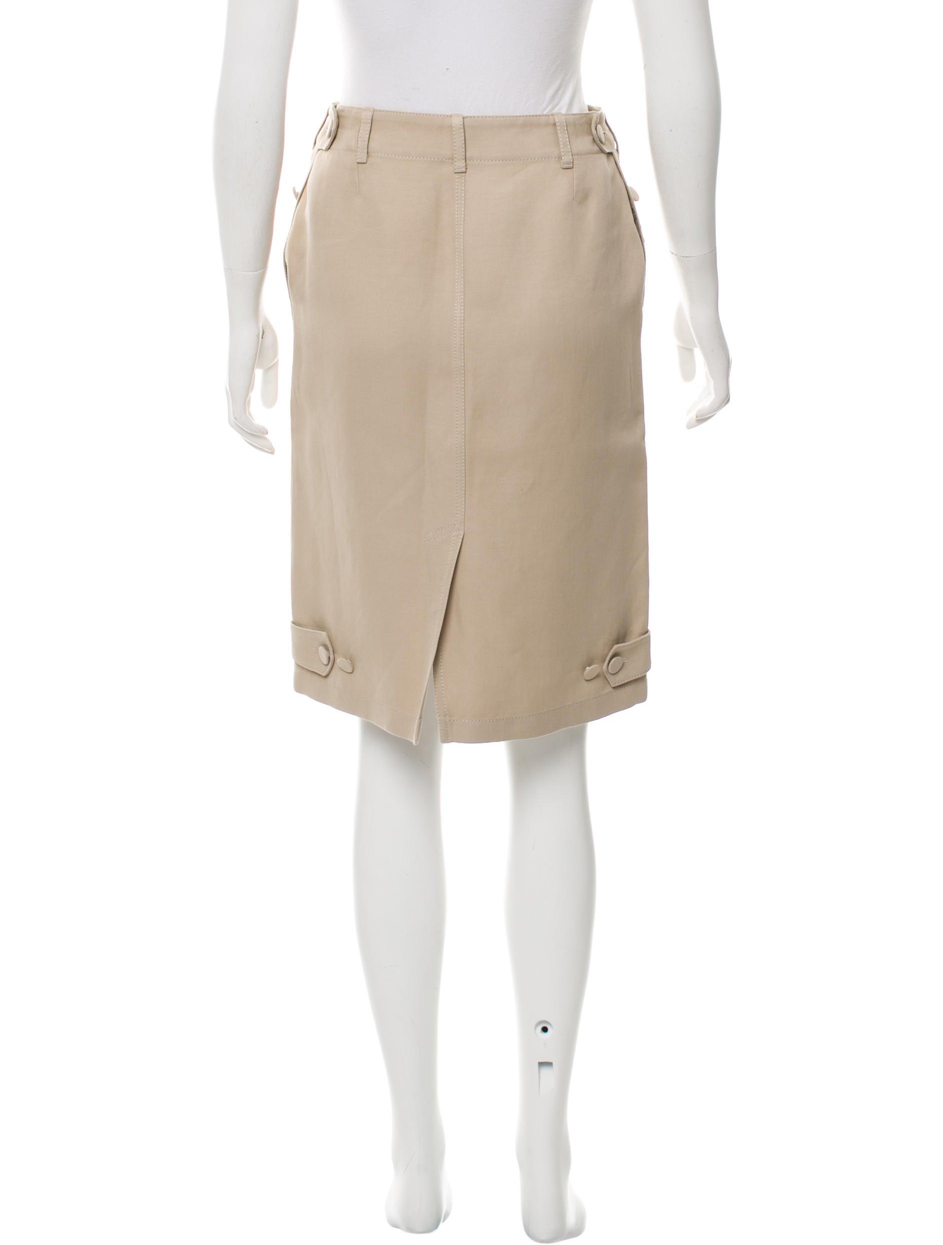 herm 232 s knee length cargo skirt clothing her100903