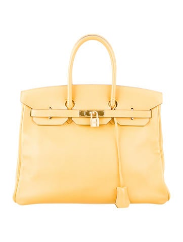 Birkin 35 light yellow