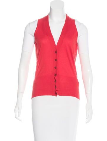 Hermès Cashmere Knit Vest None