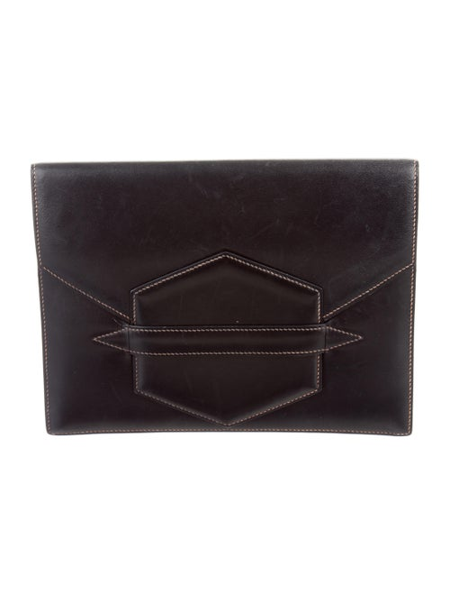 Hermès Box Faco Clutch Black