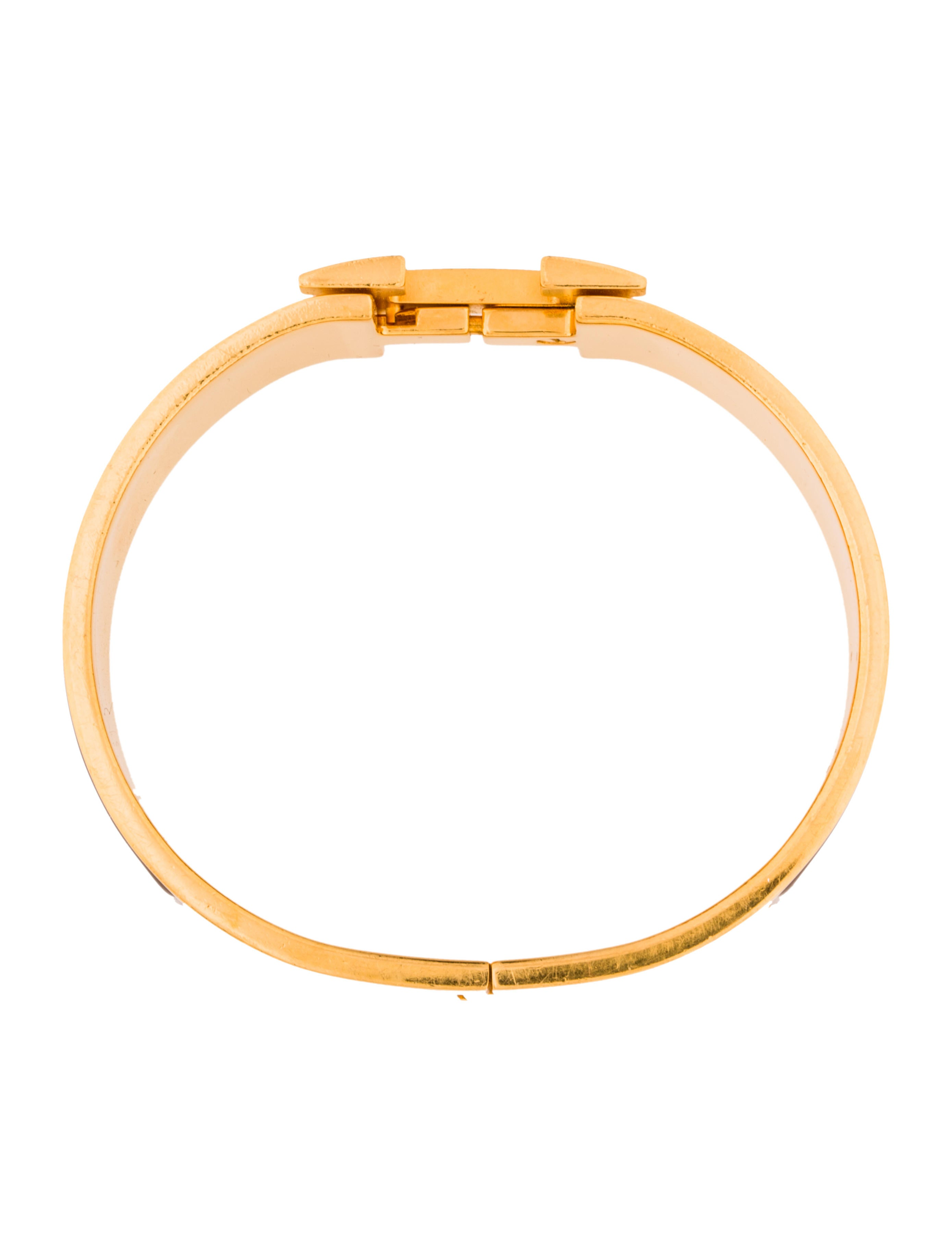 herm s wide clic clac h bracelet bracelets her102683. Black Bedroom Furniture Sets. Home Design Ideas