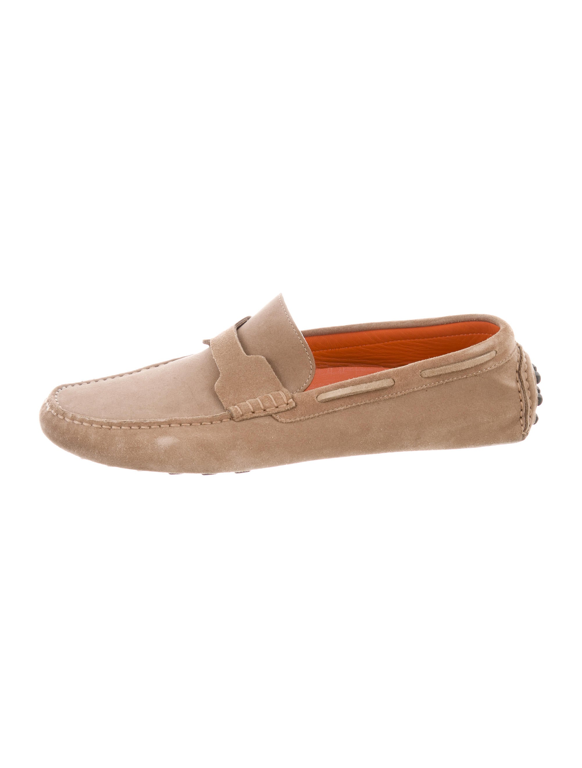 Hermu00e8s Suede Driving Loafers - Shoes - HER103647 | The ...