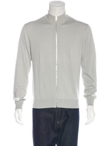 Hermès Colorblock Zip Sweater None