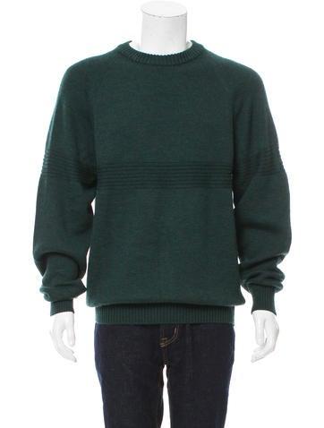 Hermès Virgin Wool Crew Neck Sweater None