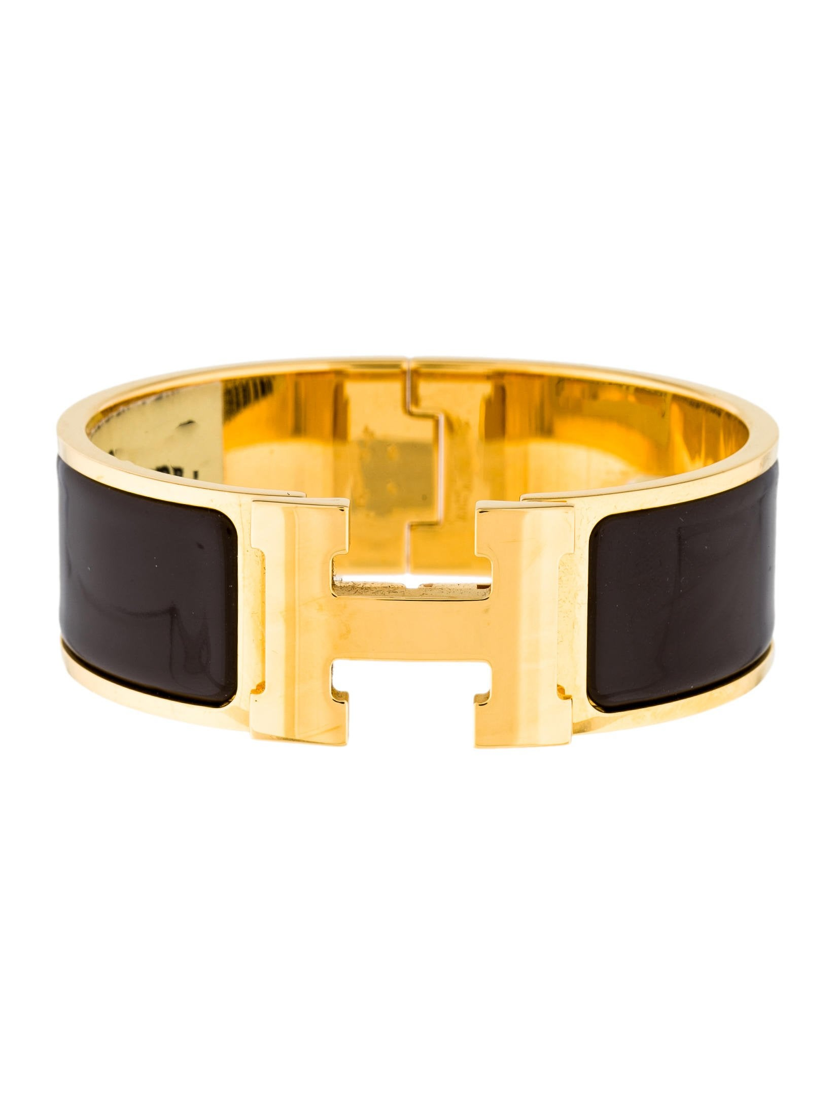 herm 232 s clic clac h bracelet bracelets her104089 the realreal