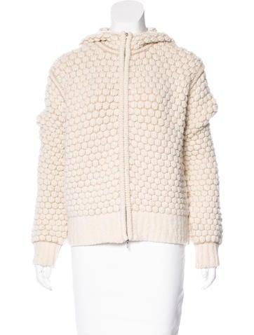 Hermès Cashmere Hooded Jacket None