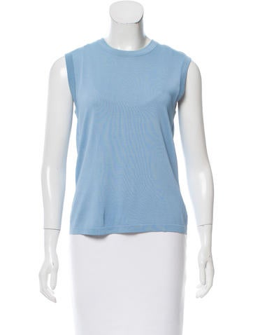 Hermès Knit Sleeveless Top None