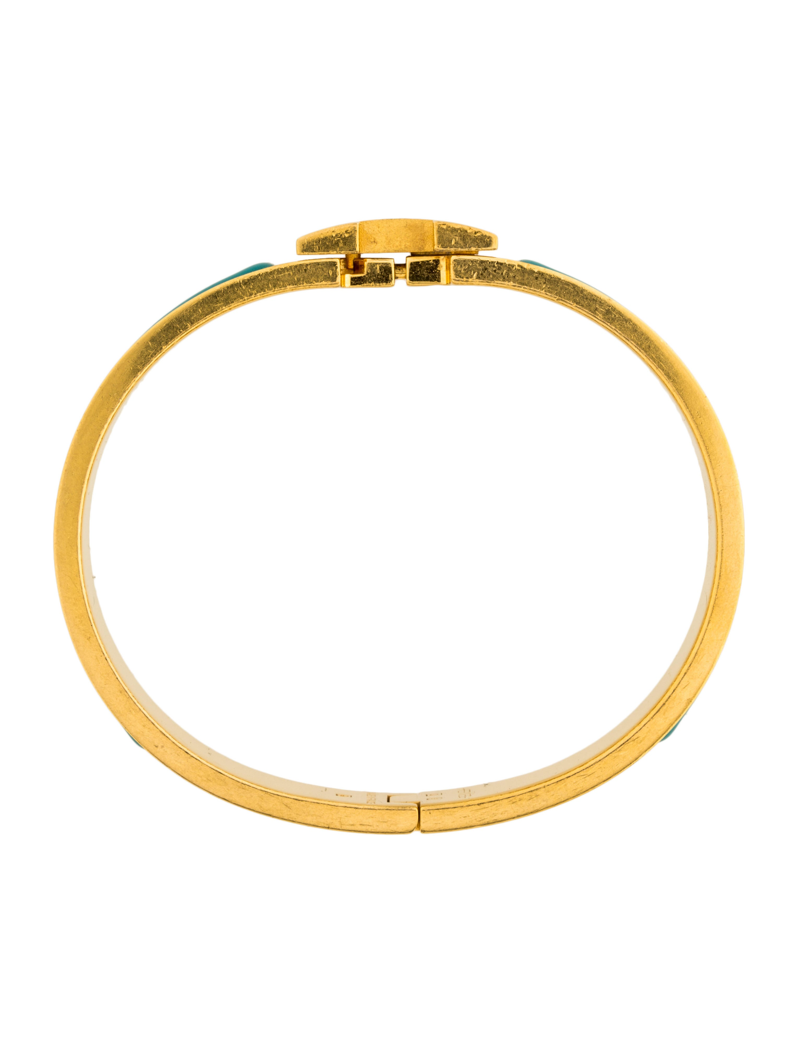 herm s gm narrow clic clac h bracelet bracelets. Black Bedroom Furniture Sets. Home Design Ideas