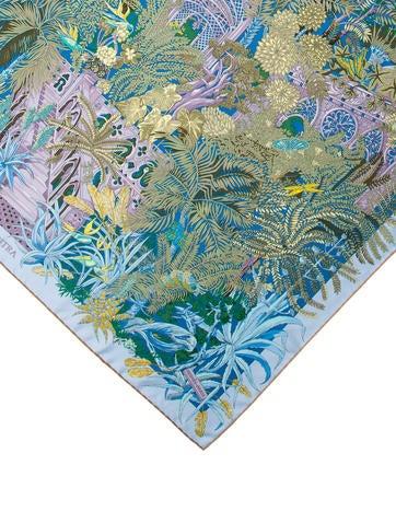 Herm s 2017 jardin a sintra silk scarf w tags for Jardin a sintra hermes