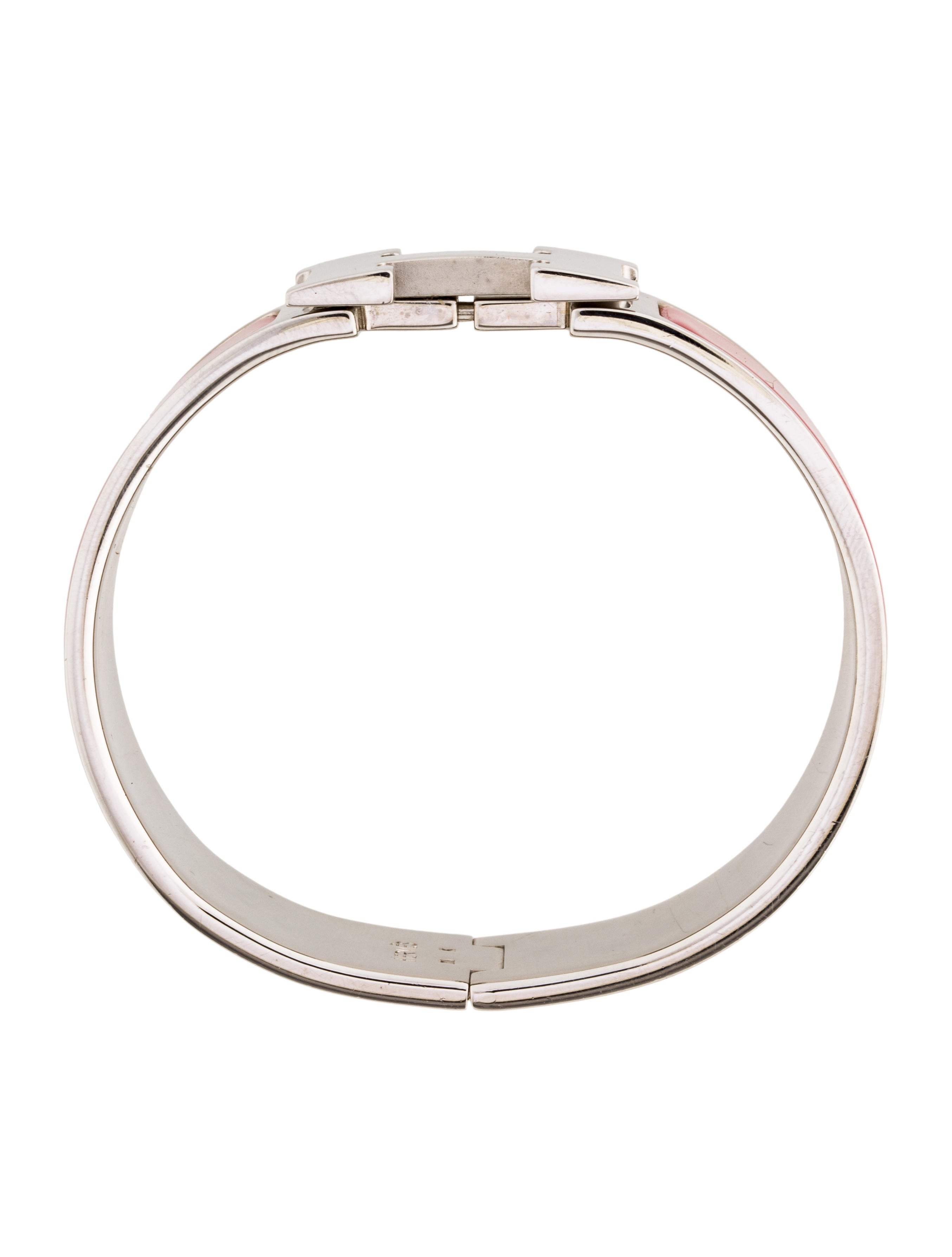 herm s wide clic clac h bangle bracelets her106306. Black Bedroom Furniture Sets. Home Design Ideas