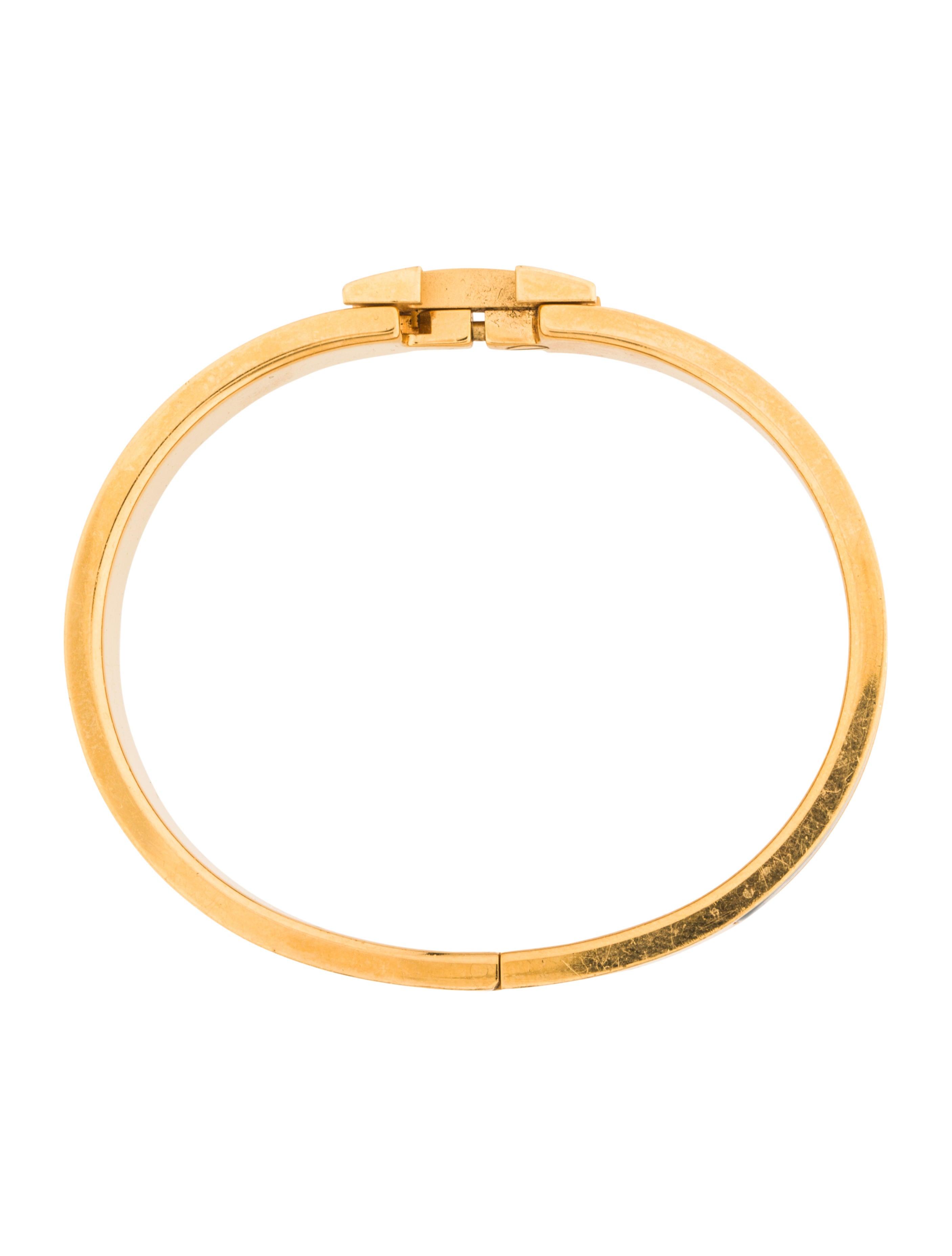 herm s narrow pm clic clac h bracelet bracelets. Black Bedroom Furniture Sets. Home Design Ideas