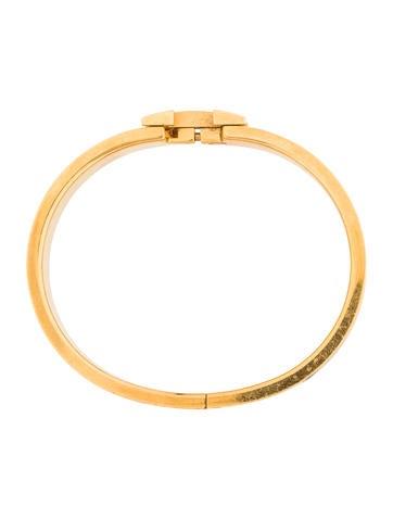 herm s narrow pm clic clac h bracelet bracelets her106468 the realreal. Black Bedroom Furniture Sets. Home Design Ideas