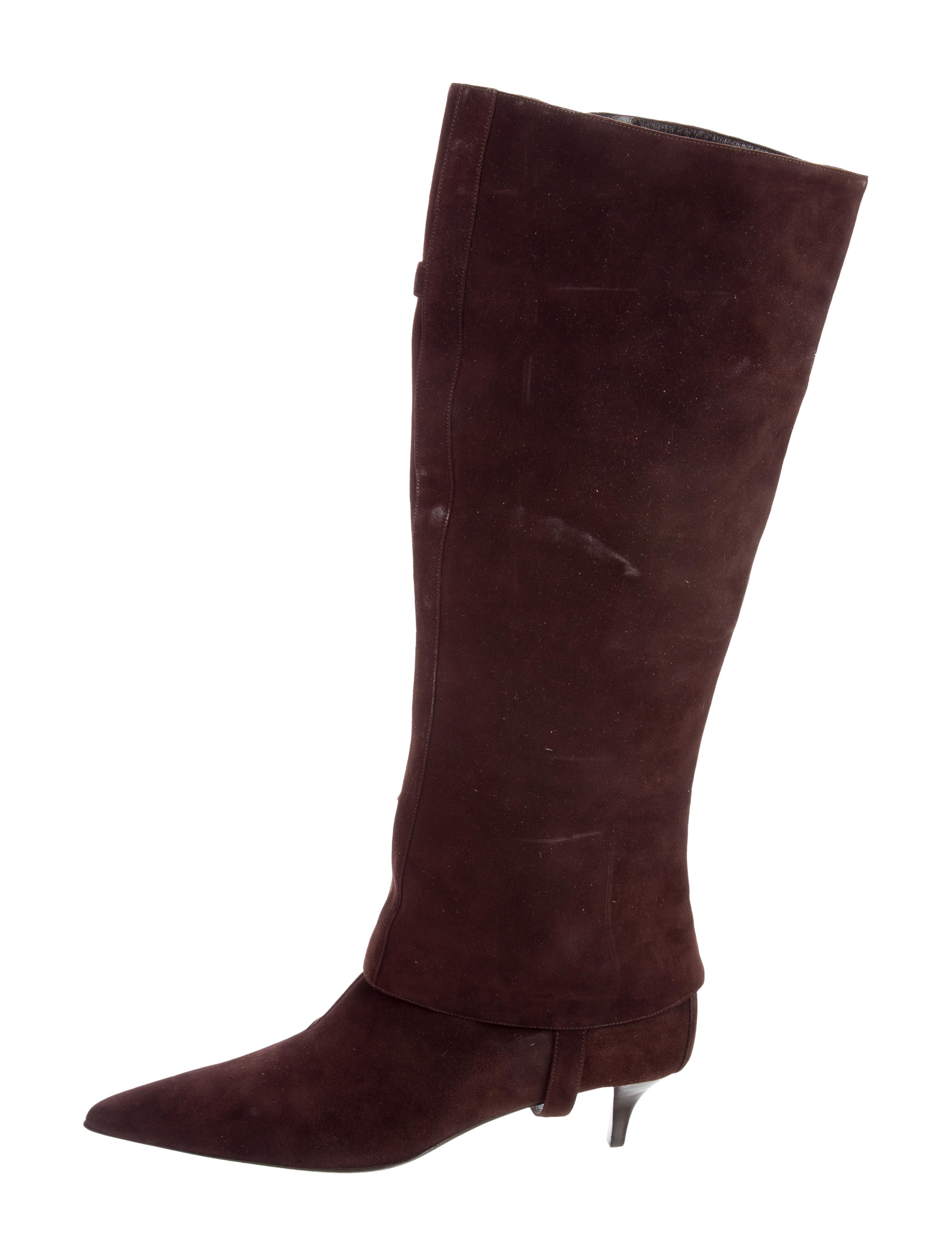 herm 232 s suede knee high boots shoes her106565 the