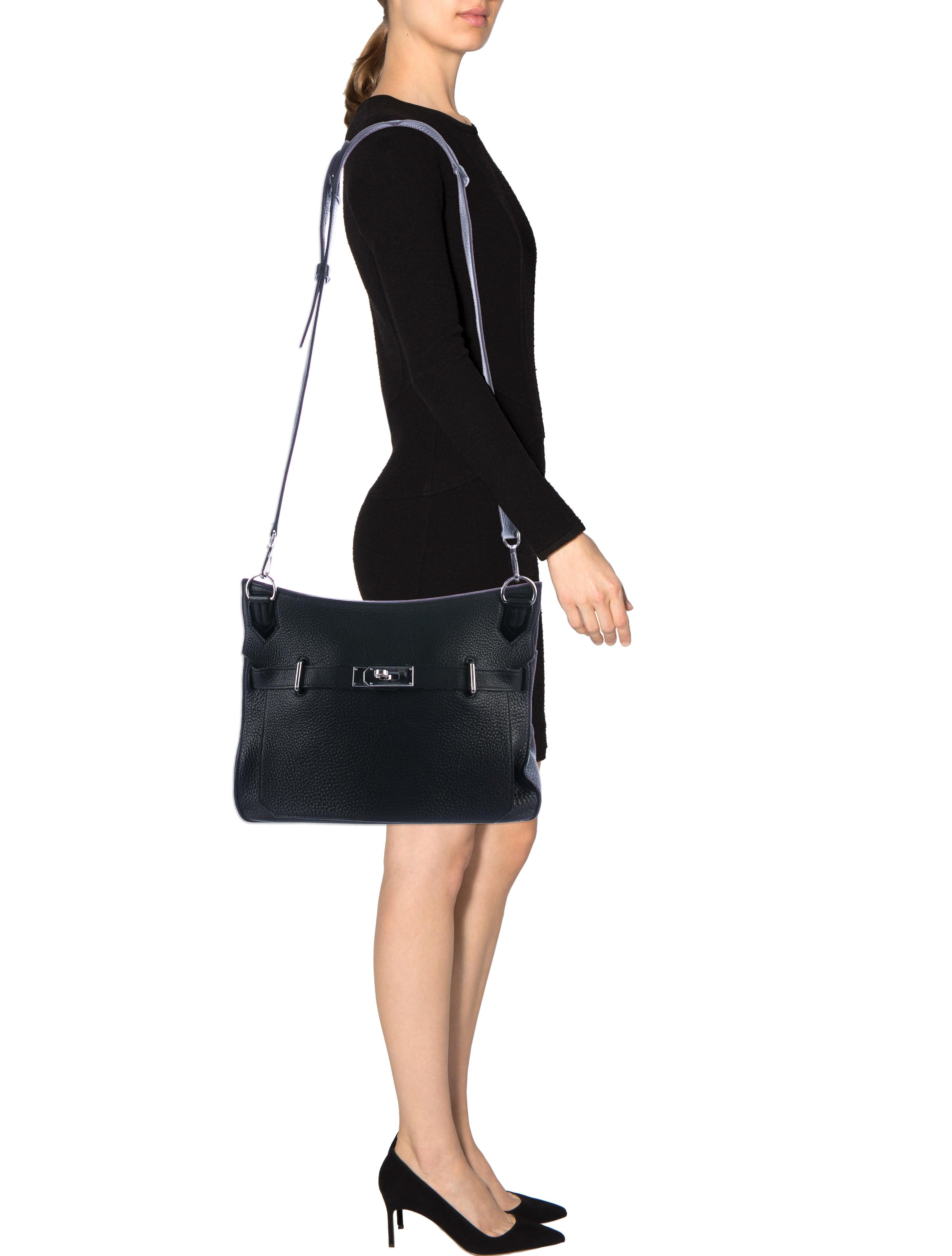 Hermès Clemence Jypsiere 34 - Handbags - HER107490  ba6eb6ba9b