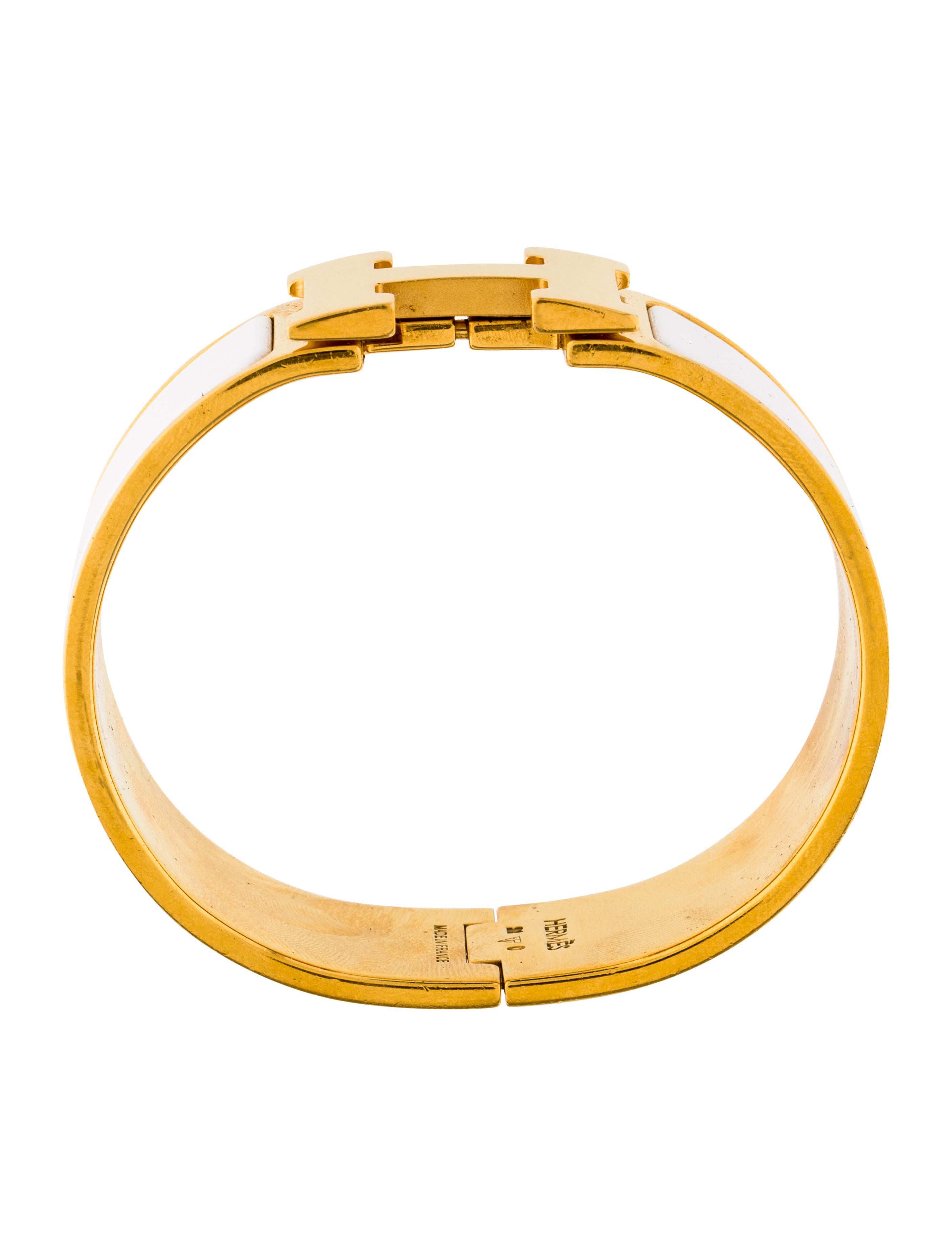 herm 232 s clic clac h bracelet bracelets her108479 the realreal