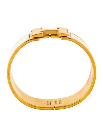 herm s clic clac h bracelet bracelets her108479 the realreal. Black Bedroom Furniture Sets. Home Design Ideas