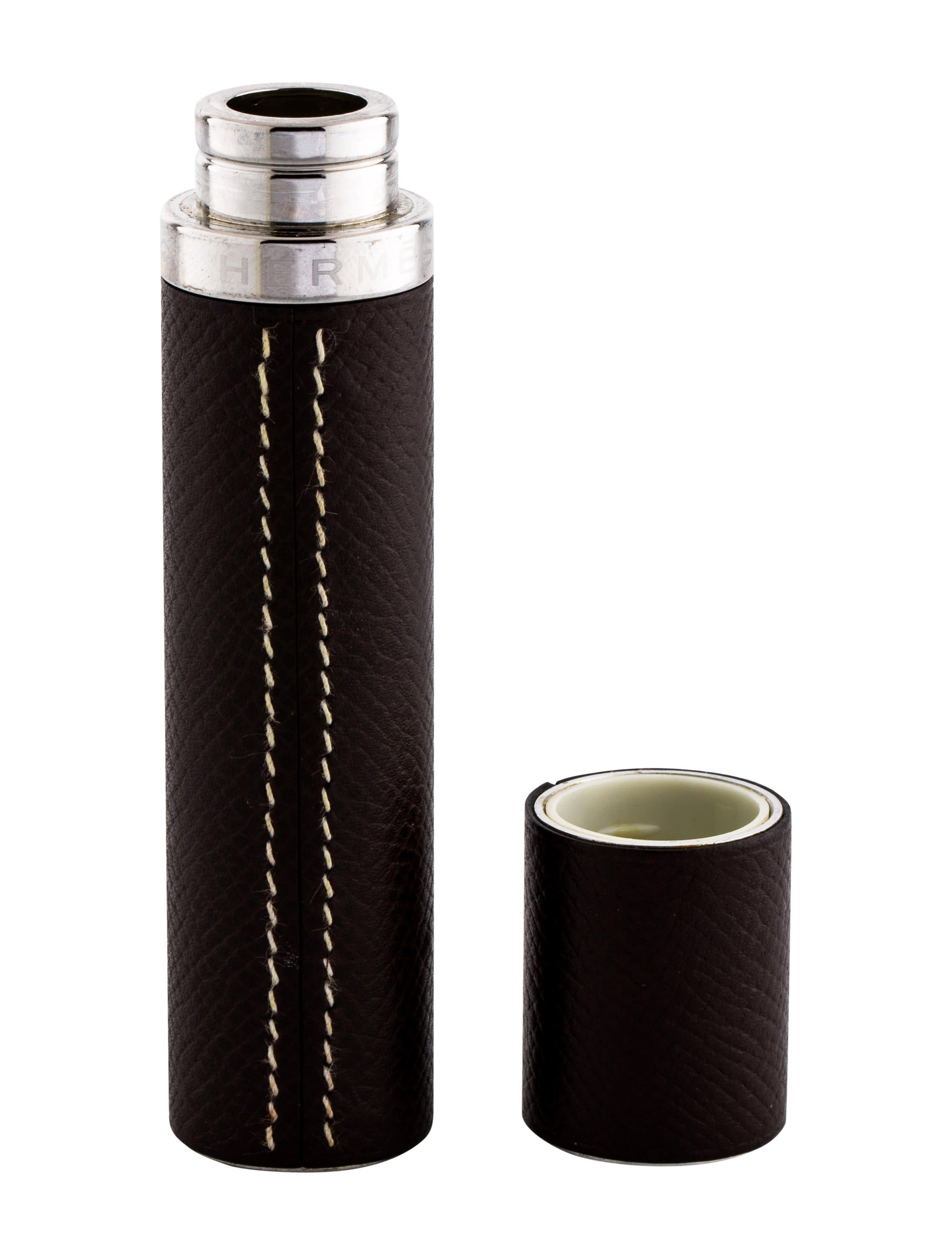 Herm s all lines leather perfume case decor and for All home accessories