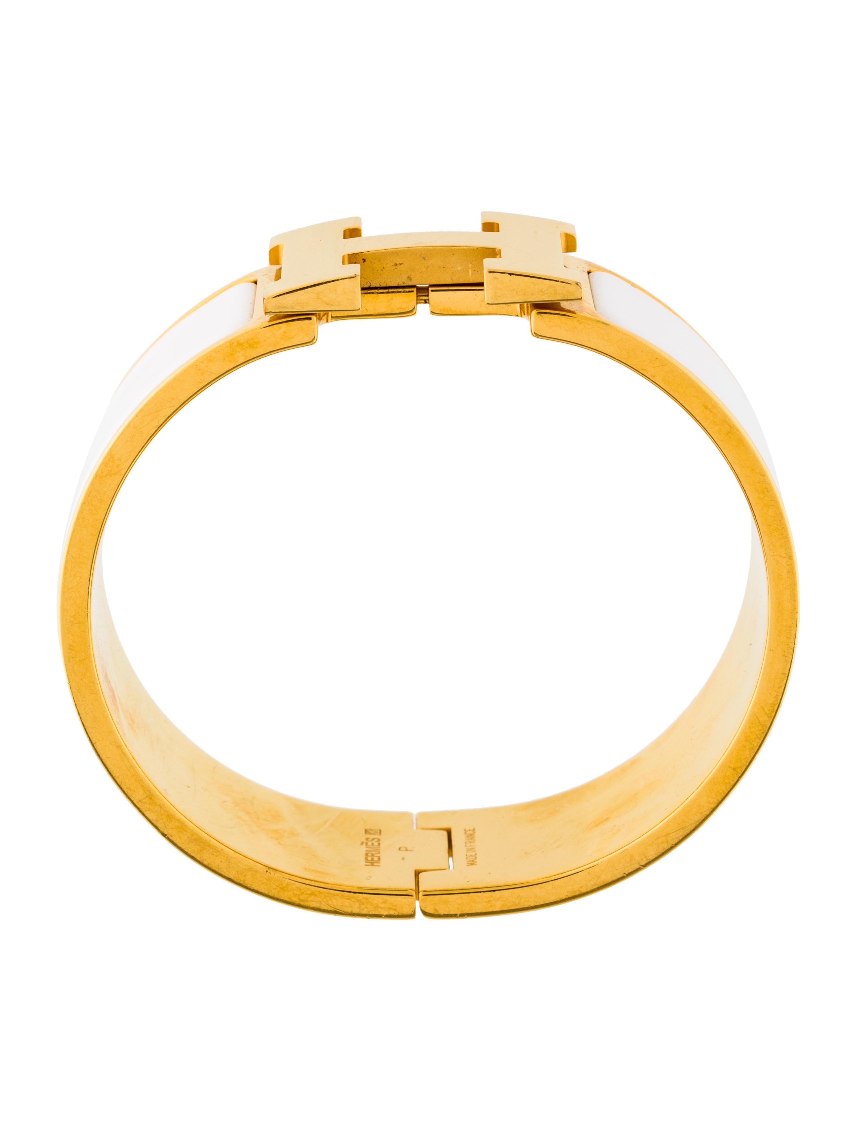 herm s clic clac h bracelet bracelets her109265 the. Black Bedroom Furniture Sets. Home Design Ideas