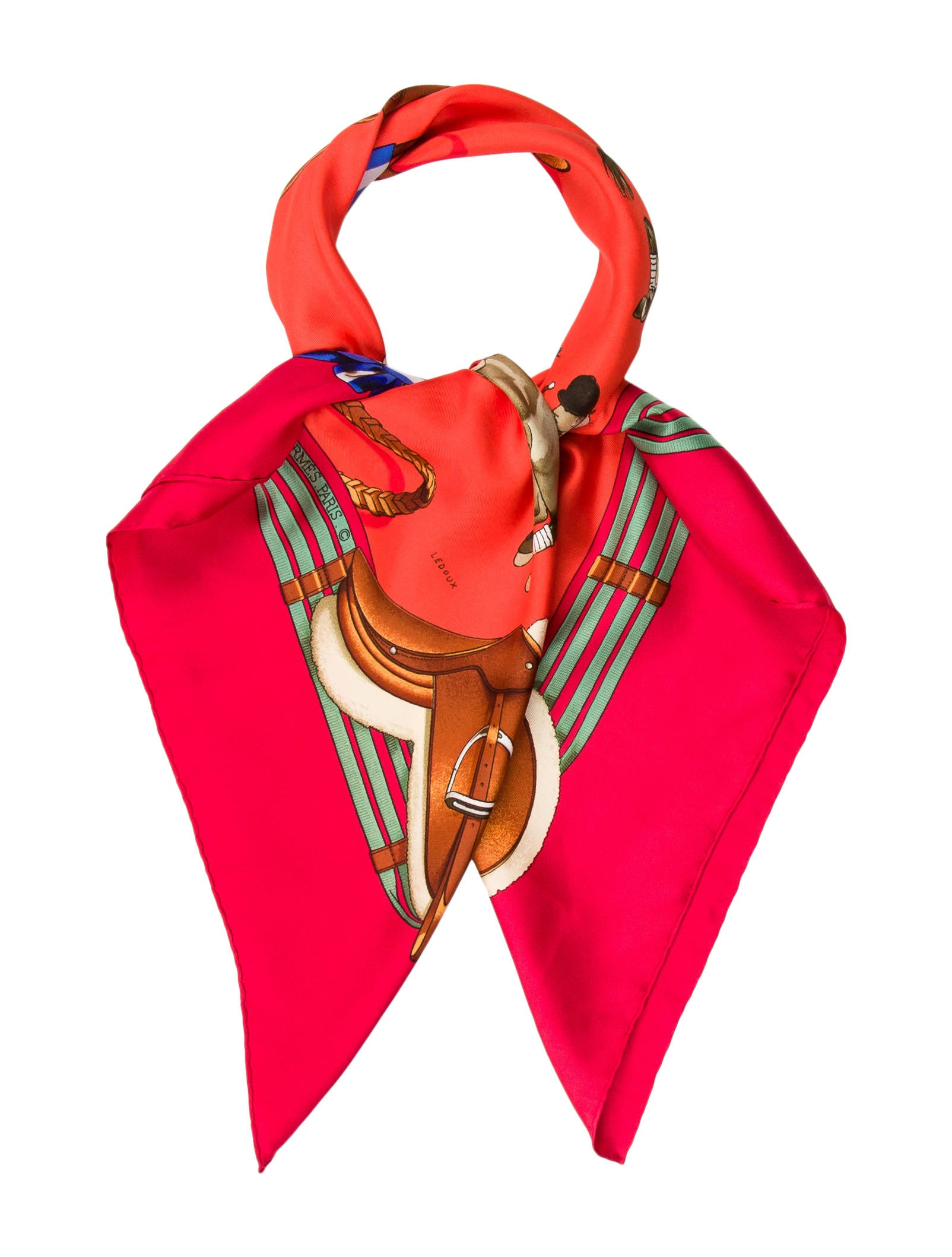 herm 232 s jumping scarf accessories her109942 the realreal
