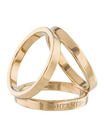 Hermes Scarf Ring Trio