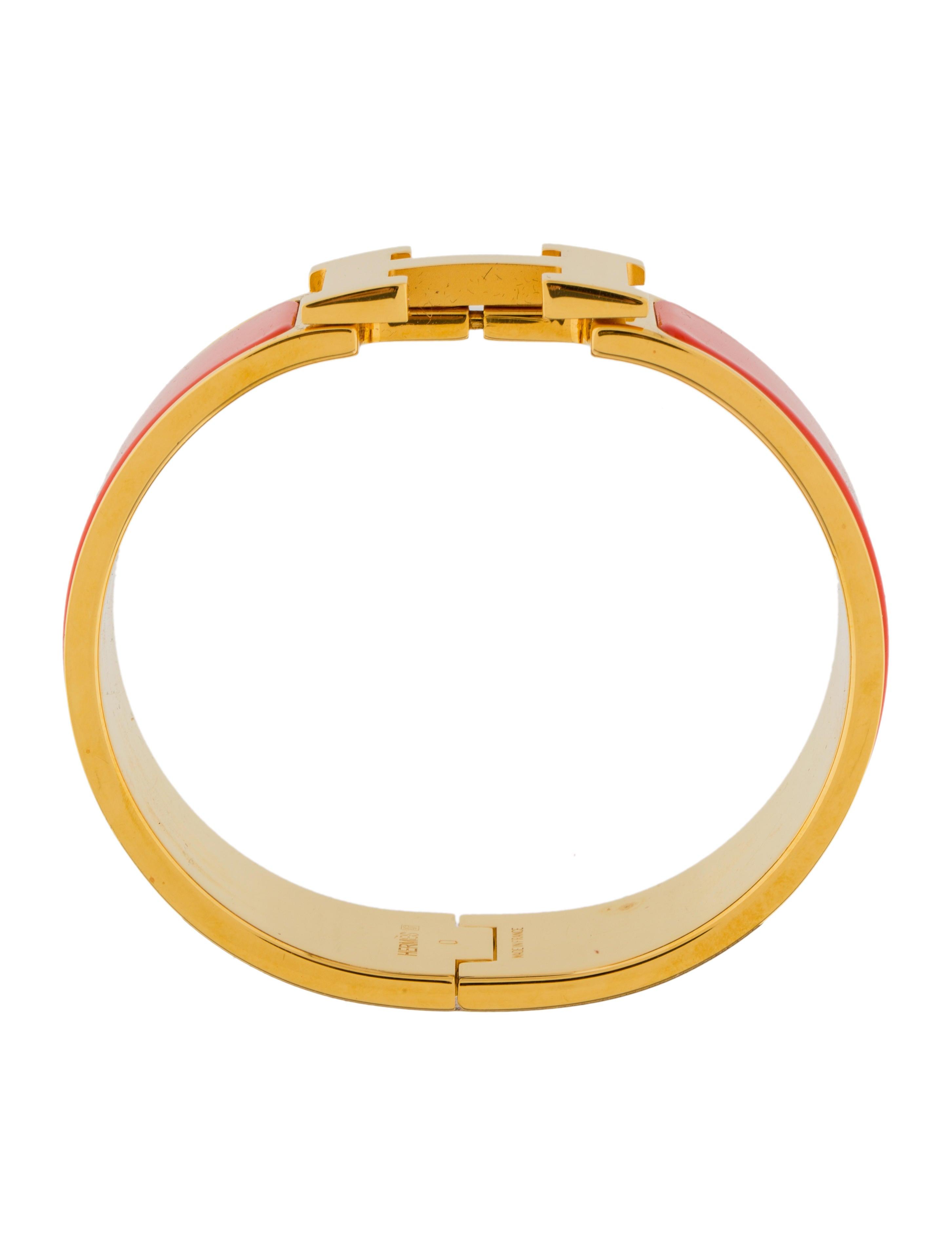 herm s clic clac h bracelet bracelets her110049 the. Black Bedroom Furniture Sets. Home Design Ideas
