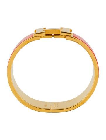 herm s clic clac h bracelet bracelets her110049 the realreal. Black Bedroom Furniture Sets. Home Design Ideas