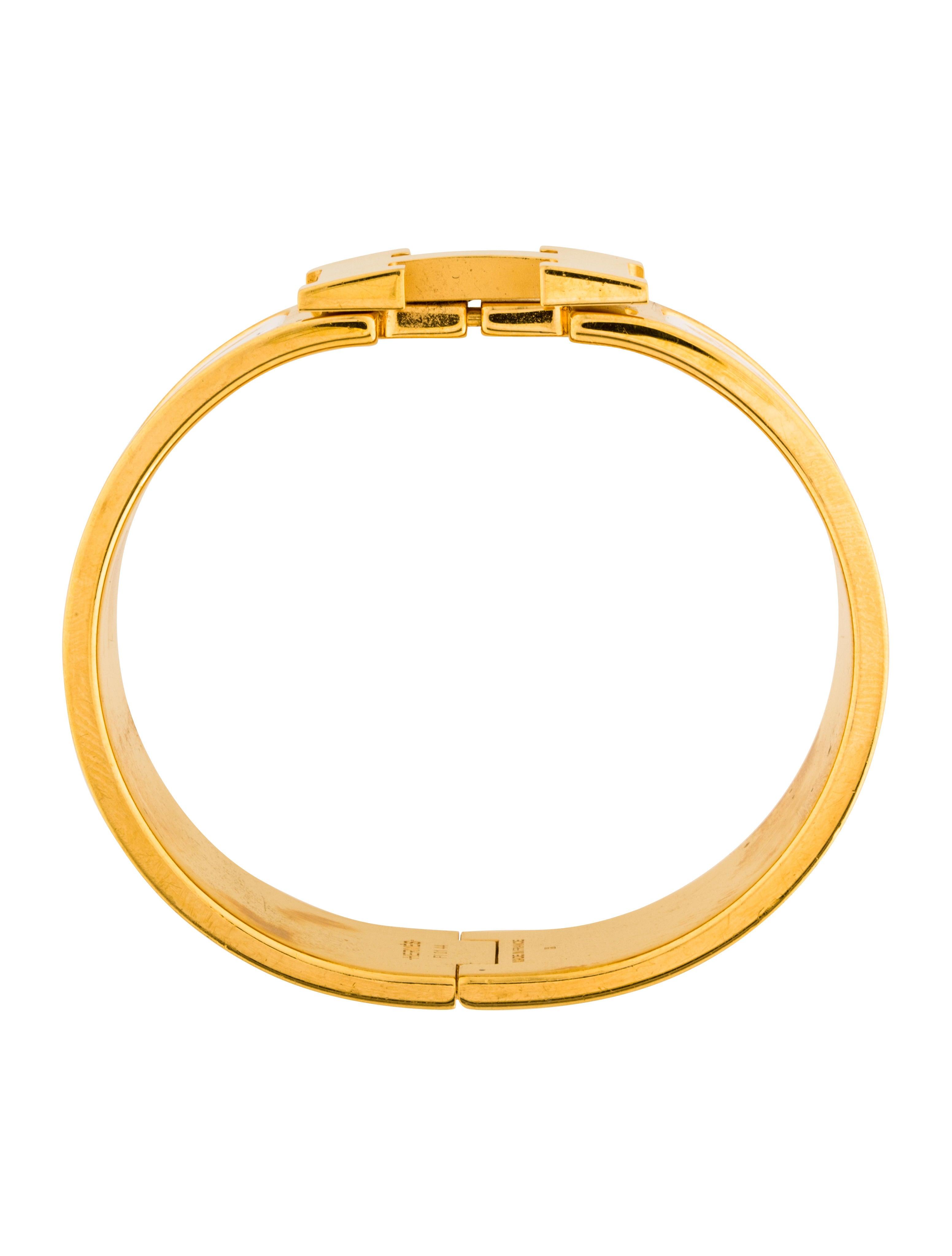 herm s clic clac h bracelet bracelets her110725 the. Black Bedroom Furniture Sets. Home Design Ideas