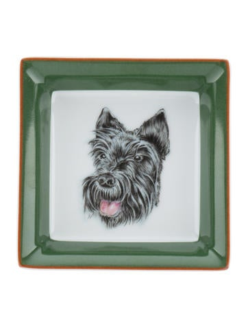 Herm S Pair Of Scottish Terrier Trinket Dishes Decor And
