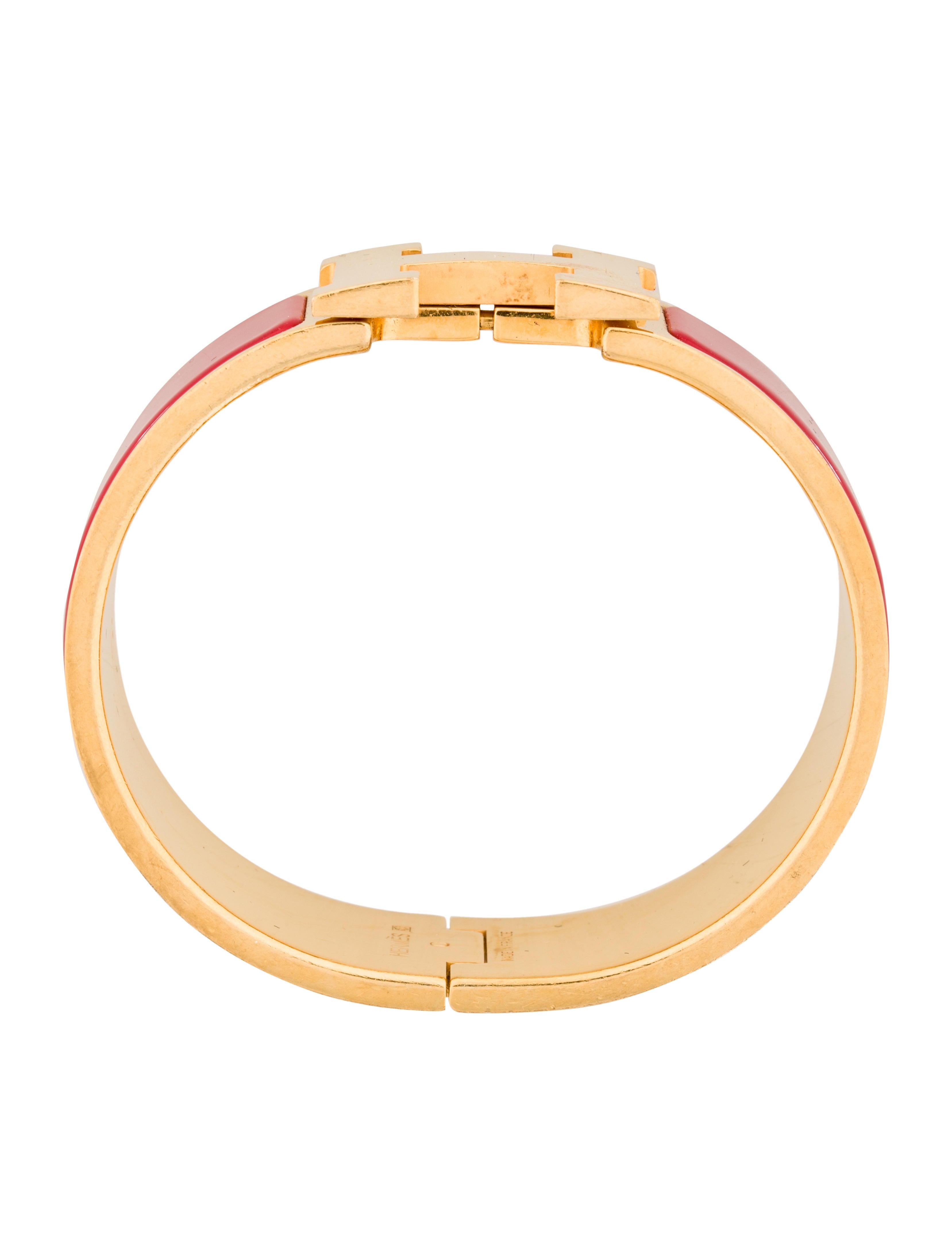 herm s clic clac h bracelet bracelets her111282 the. Black Bedroom Furniture Sets. Home Design Ideas