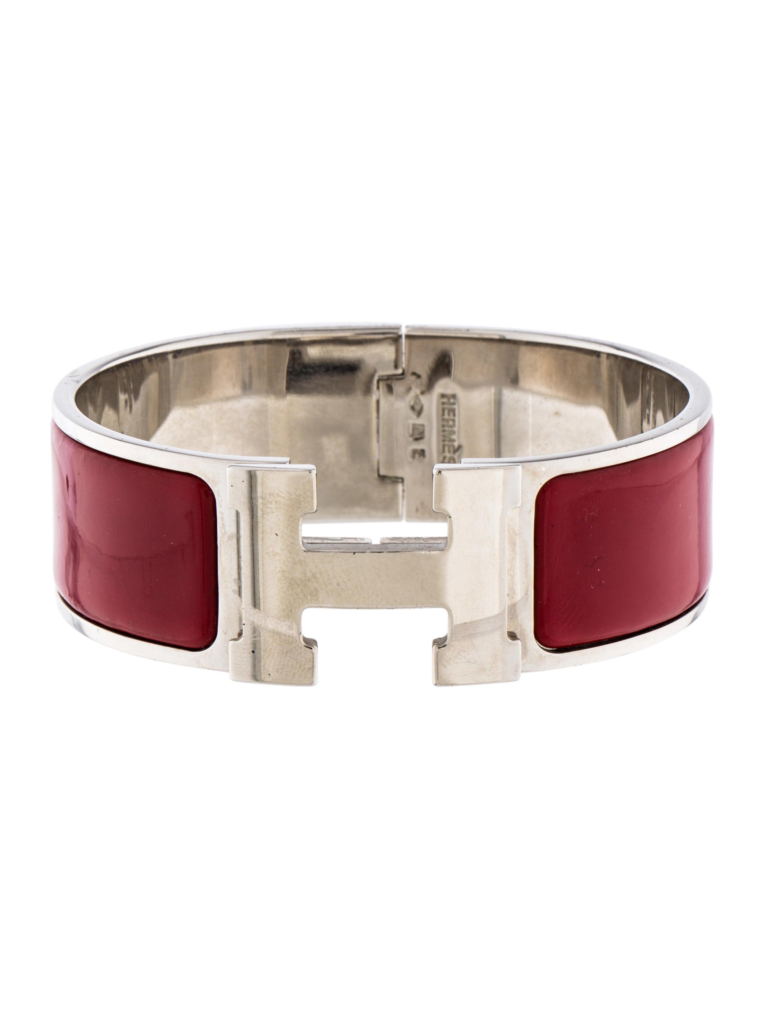 herm s clic clac h bracelet bracelets her111452 the. Black Bedroom Furniture Sets. Home Design Ideas