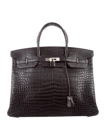 Birkin 40 Crocodile