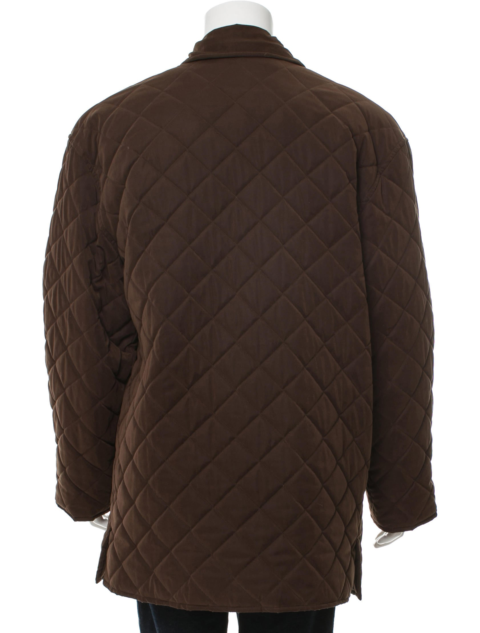 Herm S Quilted Wool Coat Clothing Her112036 The Realreal