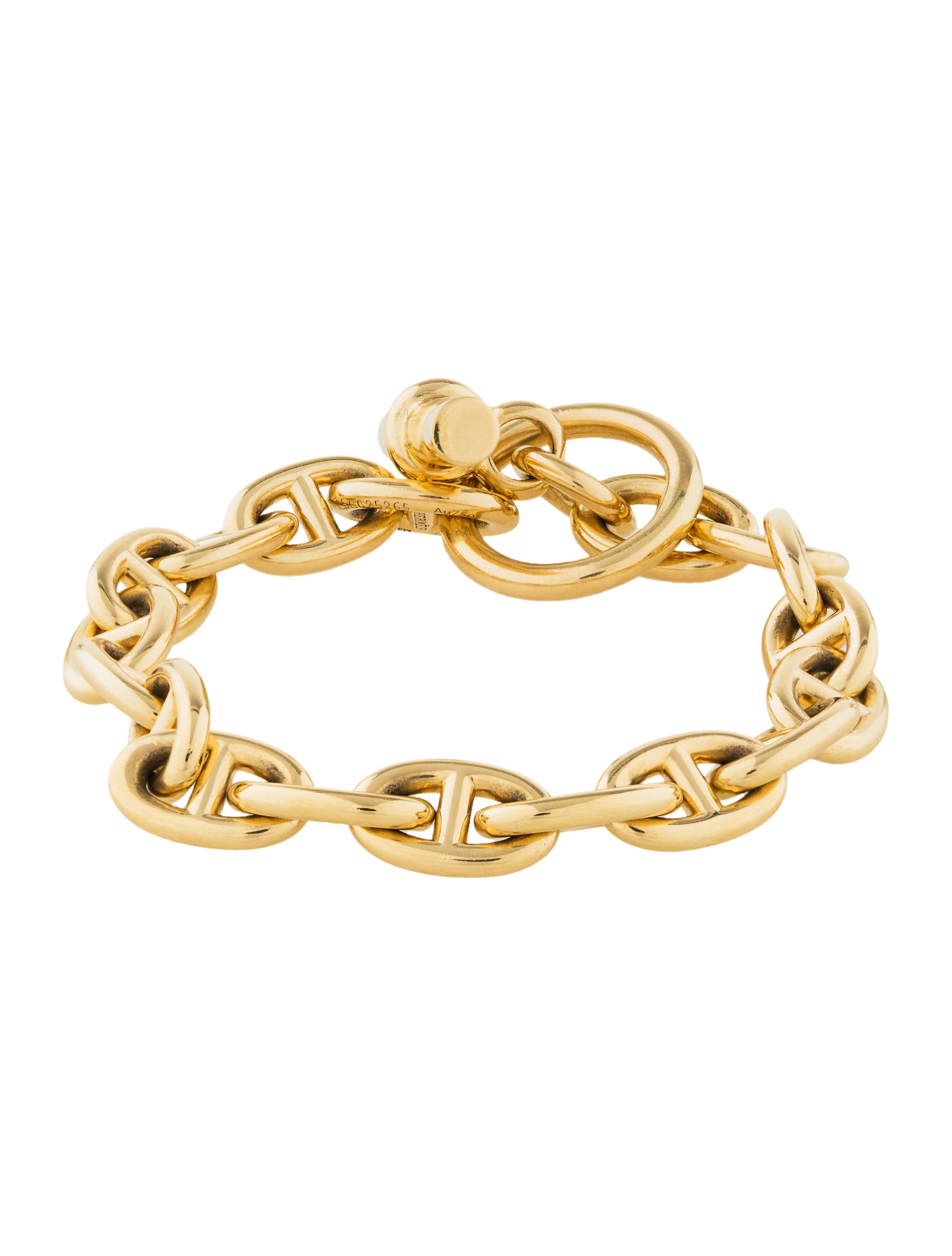 be4ed9225c4b1b Hermès Chaîne d'Ancre Bracelet - Bracelets - HER112591 | The RealReal