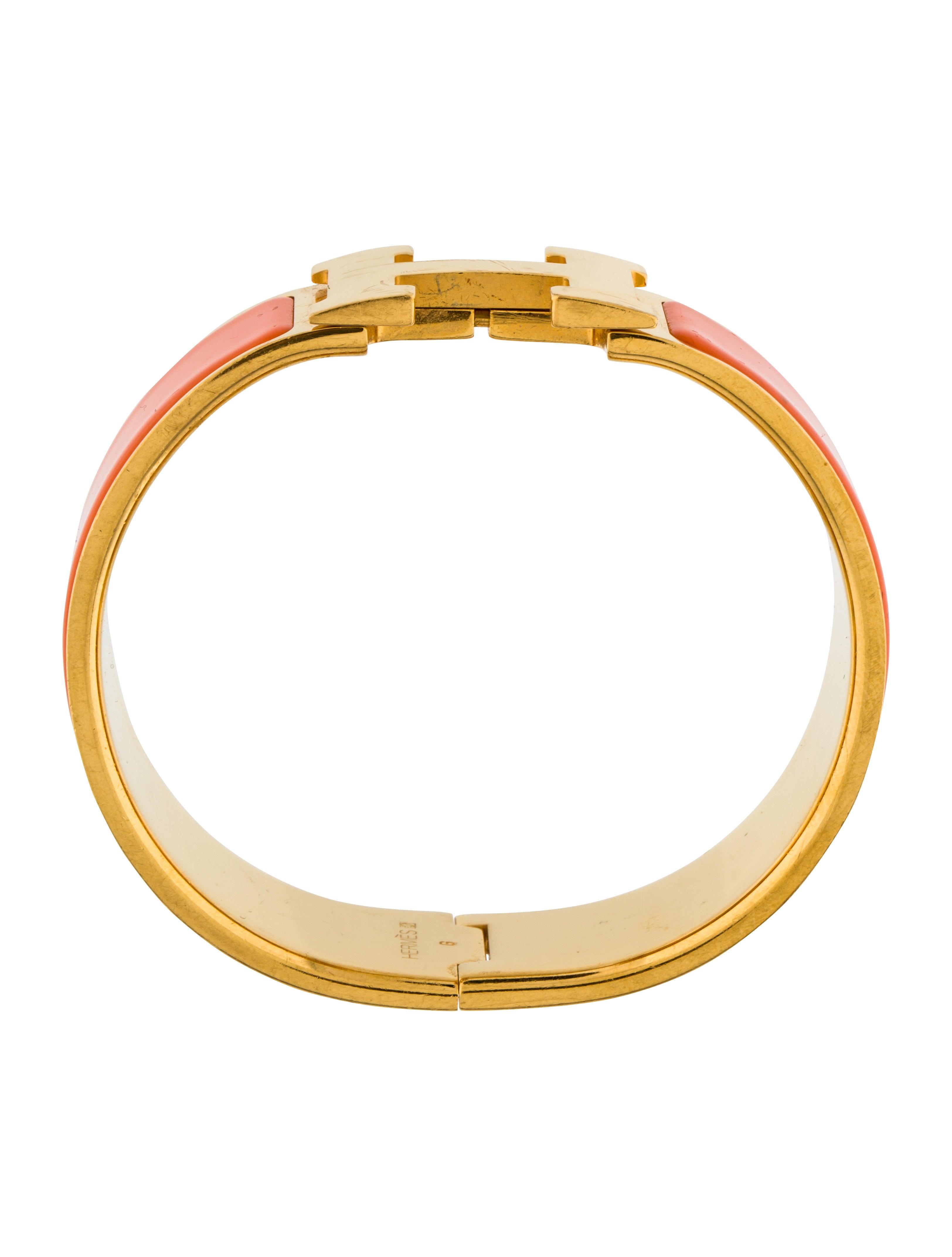 herm s clic clac h bracelet bracelets her113333 the. Black Bedroom Furniture Sets. Home Design Ideas