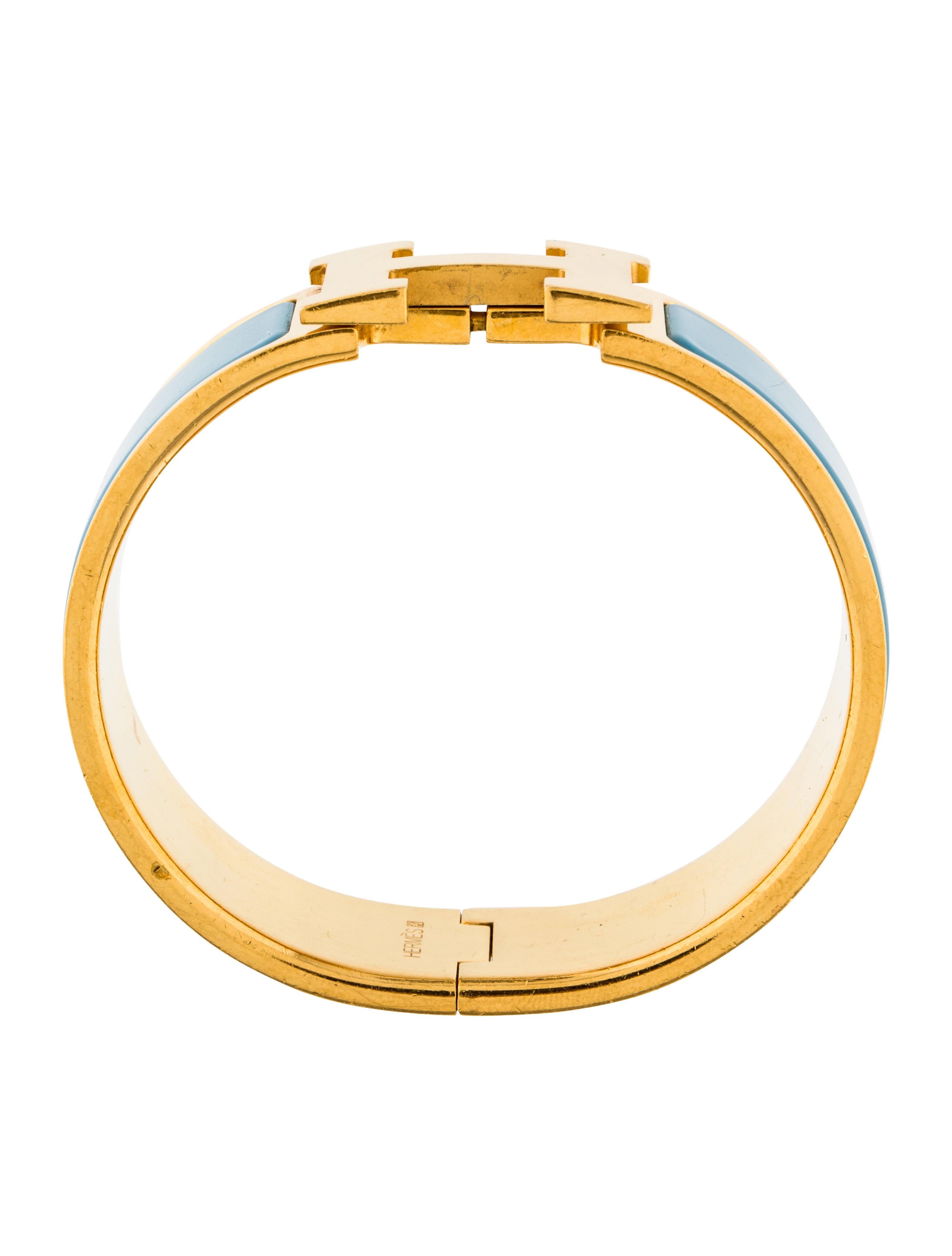herm s clic clac h bracelet bracelets her116388 the. Black Bedroom Furniture Sets. Home Design Ideas