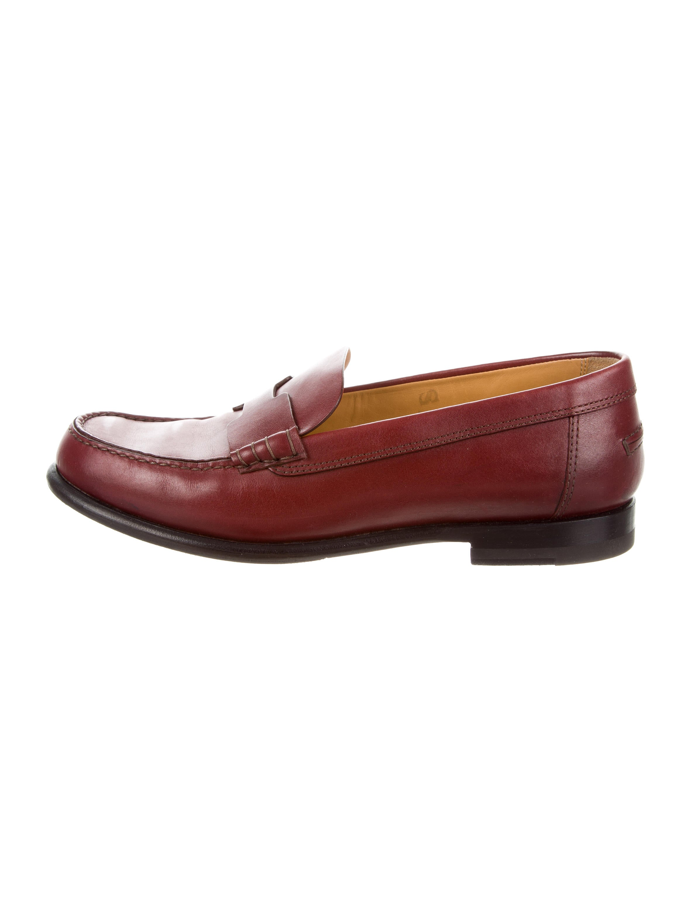 Hermès Kennedy Round-Toe Loafers cheap price wholesale price unjtCdxdk