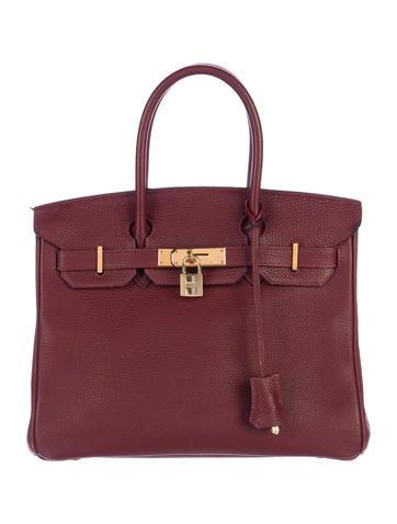Birkin bag 30 Hermès Togo