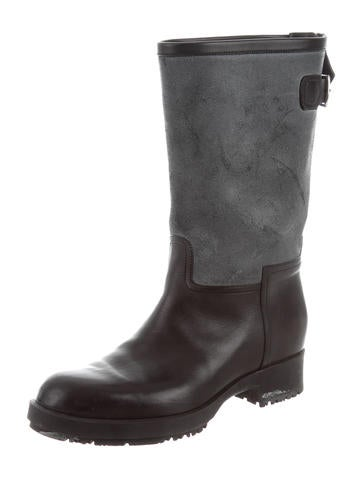 cheap real finishline sale high quality Hermès Round-Toe Mid-Calf Boots outlet choice buy cheap low cost cheap sale good selling oLzvY5UA