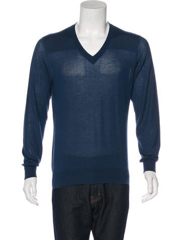 Hermès Wool V-Neck Sweater None