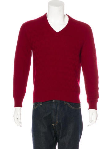Hermès Cashmere V-Neck Sweater None