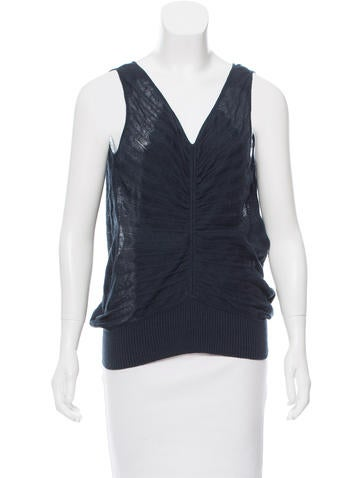 Hermès Sleeveless Knit Top w/ Tags None