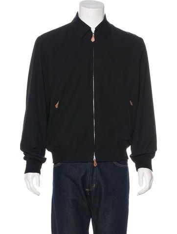 Hermès Woven Bomber Jacket None