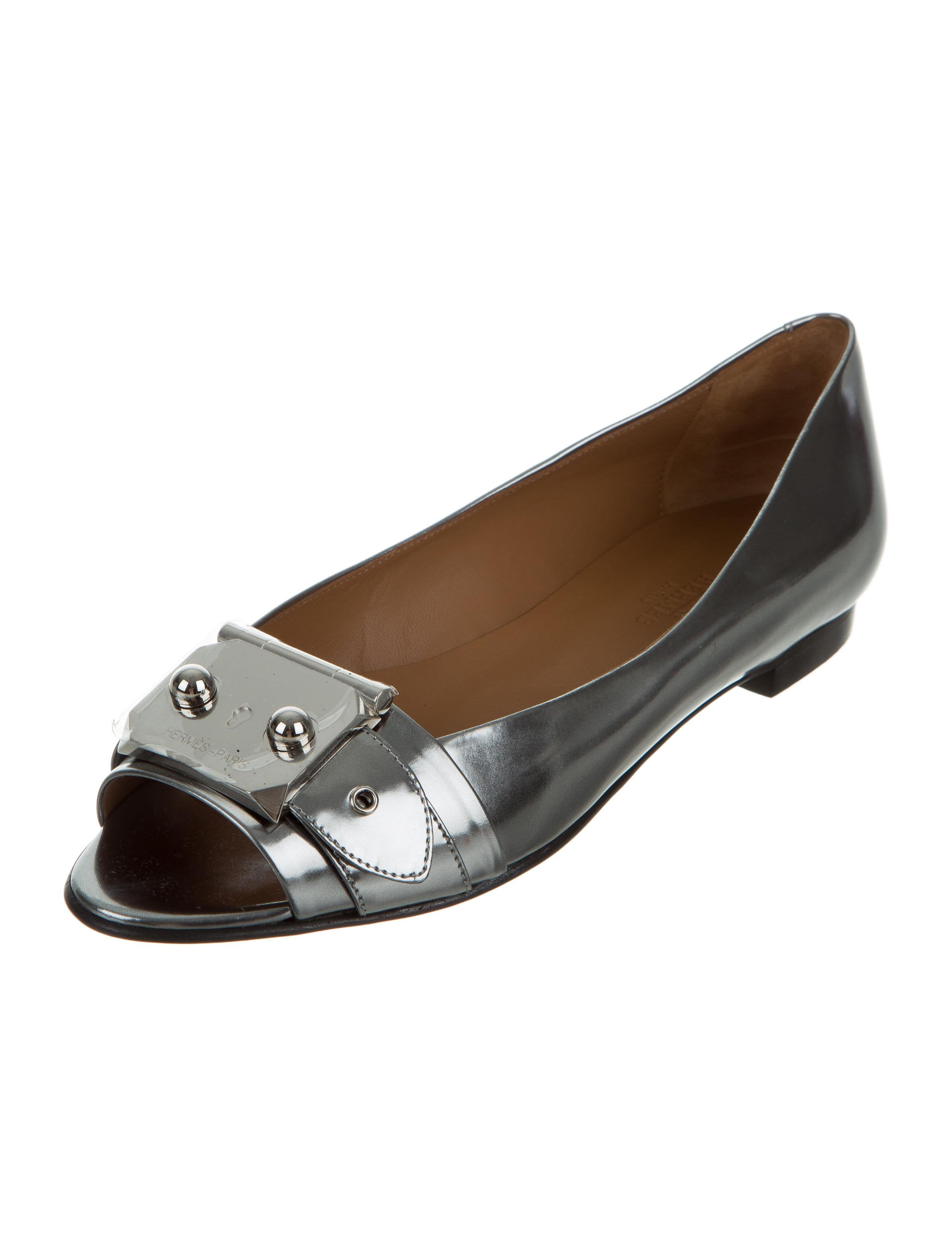 Hermès Metallic Buckle Flats sale collections low cost for sale free shipping big sale hot sale for sale S2jzziIr