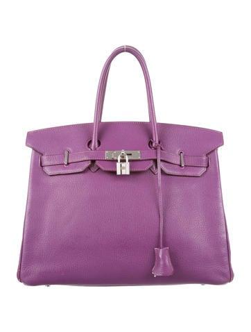 Birkin 35 purple
