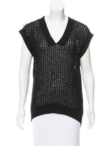 Hermès Open Knit Silk Sweater None