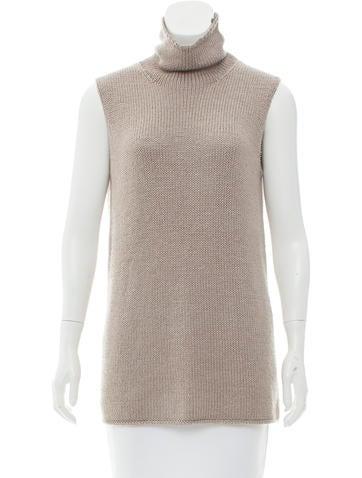 Hermès Silk Knit Top None