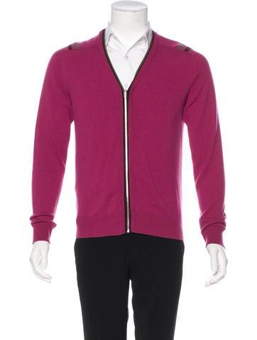 Hermès Cashmere Zip Sweater None